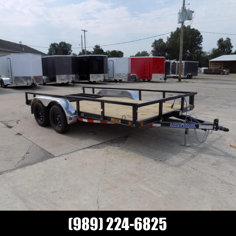 "New Load Trail 83"" x 14' Utility Trailer For Sale - $0 Down & Payments From $79/mo W.A.C."