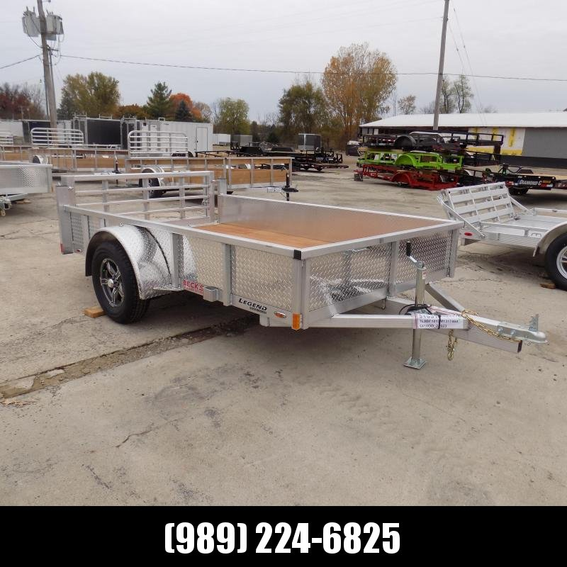 New Legend Open Deluxe 6' x 10' Aluminum Utility - $0 Down & Payments From $73/mo. W.A.C.