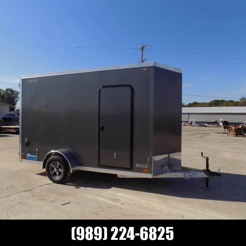 New Legend Thunder 6' x 13' Aluminum Enclosed Cargo Trailer for Sale- $0 Down Payments From $131/Mo W.A.C.
