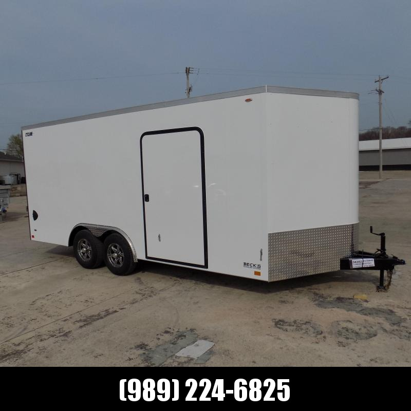 New Legend Trailers Legend Cyclone 8.5' x 20' Enclosed Car Hauler / Cargo Trailer for Sale - $0 Down Payments From $137/mo W.A.C.