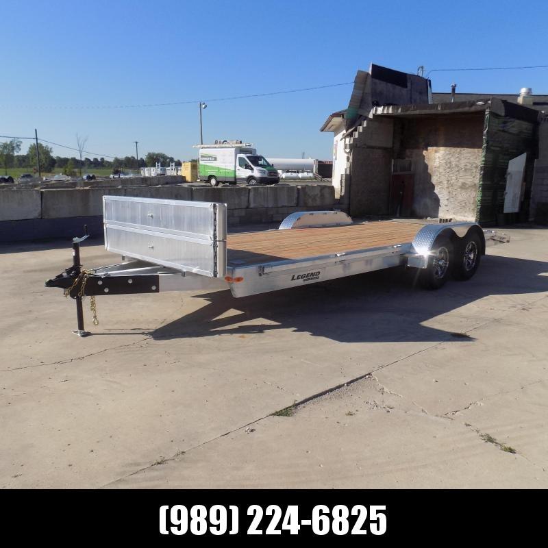 New Legend 7' x 20' Aluminum Tilt Deck Car Hauler - $0 Down & Payments From $125/mo. W.A.C.