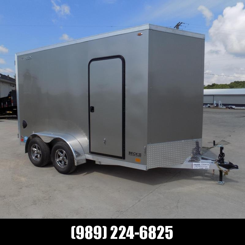 New Legend Thunder 7' x 14' Aluminum Enclosed Cargo Trailer for Sale- $0 Down Payments From $115/Mo W.A.C.