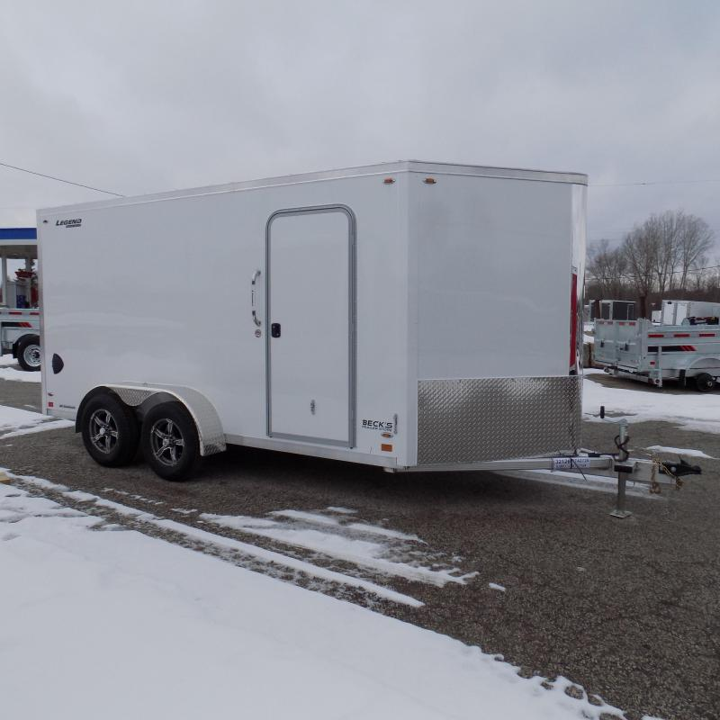 New Legend FTV 7' x 17' Aluminum Enclosed Cargo Trailer - Best Built Cargo Trailer - $0 Down & Payments From $127/mo. W.A.C.