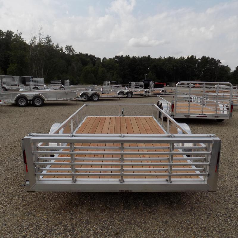 New Legend Open Deluxe 7' x 14' Aluminum Utility - $0 Down & Payments From $95/mo. W.A.C.