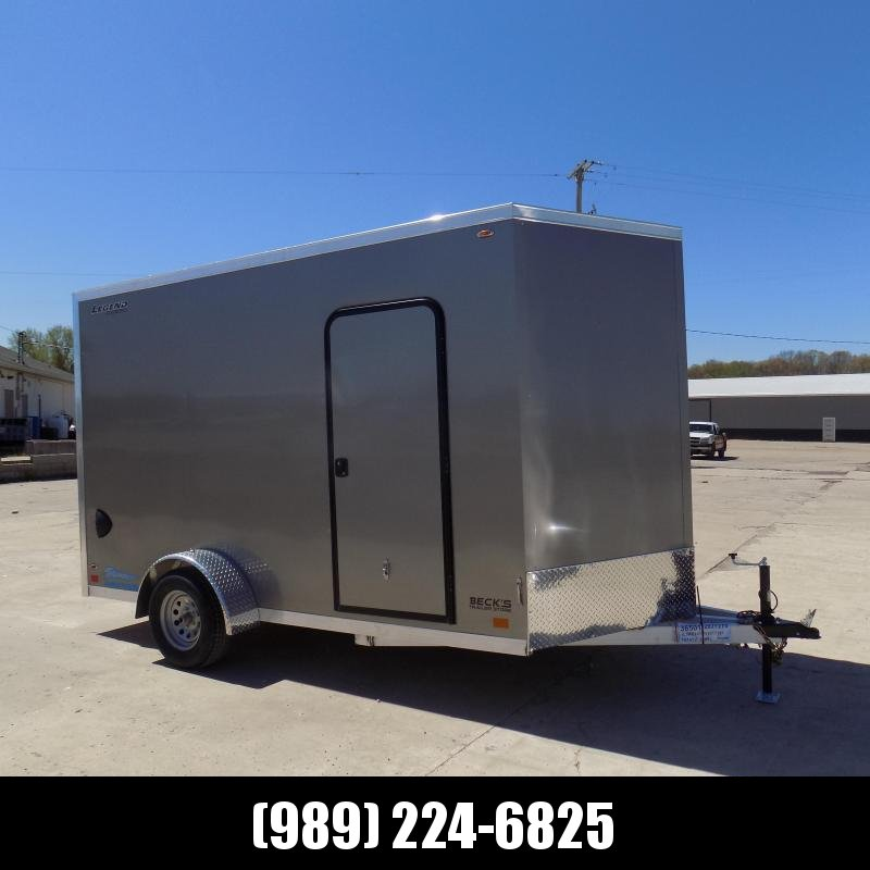 New Legend Thunder 7' x 14' Aluminum Enclosed Cargo For Sale - $0 Down Payments From $111/mo. W.A.C