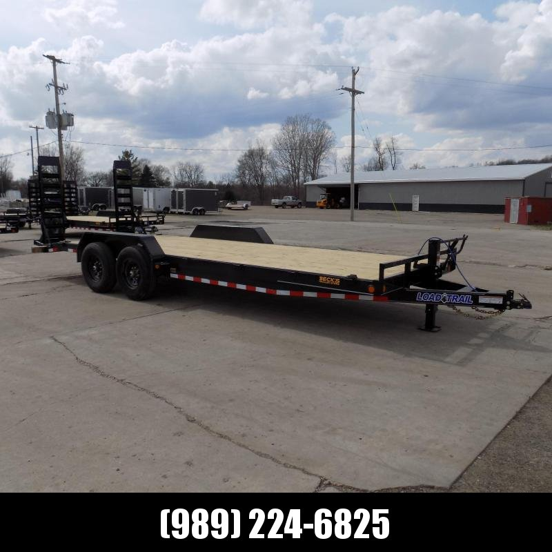 """New Load Trailer 83"""" x 22' Car Hauler Trailer For Sale With 7K Axles- $0 Down & Payments from $113/mo. W.A.C."""