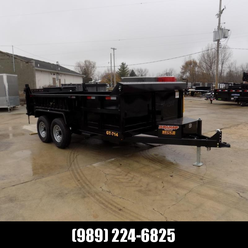 New DuraDump 7' x 14' Dump Trailer For Sale - $0 Down & Payments From $129/mo. W.A.C. - BACK IN-STOCK SOON!