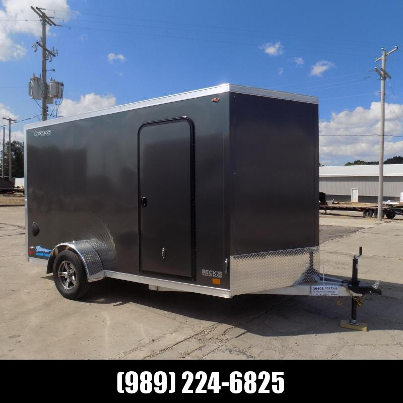 New Legend Thunder 7' x 14' Aluminum Enclosed Cargo Trailer for Sale- $0 Down & Payments From $123/mo. W.A.C.