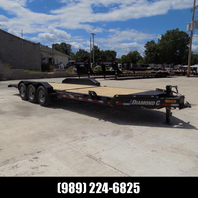 """New Diamond C Trailers 82"""" x 24' Heavy-Duty Tilt Deck Equipment Trailer - Nearly 20K Payload Rating - $0 Down & Payments from $137/mo. W.A.C."""