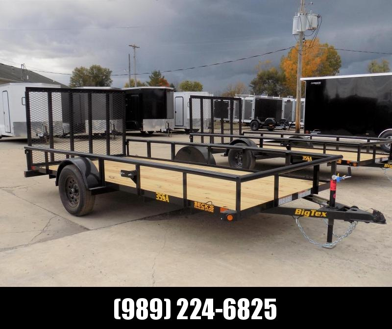 New Big Tex 6.5' x 14' Utility Trailer For Sale - $0 Down & Payments From $55/mo. W.A.C.