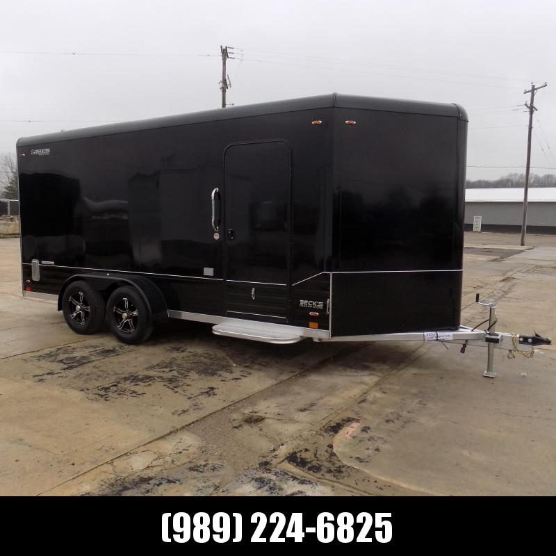 New Legend Deluxe V Nose 7' X 19' All Aluminum Cargo Trailer - $0 Down & Payments from $125/mo. W.A.C.