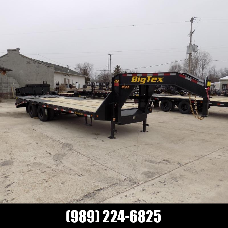 "Big Tex 102"" x 20' + 5' Gooseneck Trailer for Sale - $0 Down & $153/mo. W.A.C."