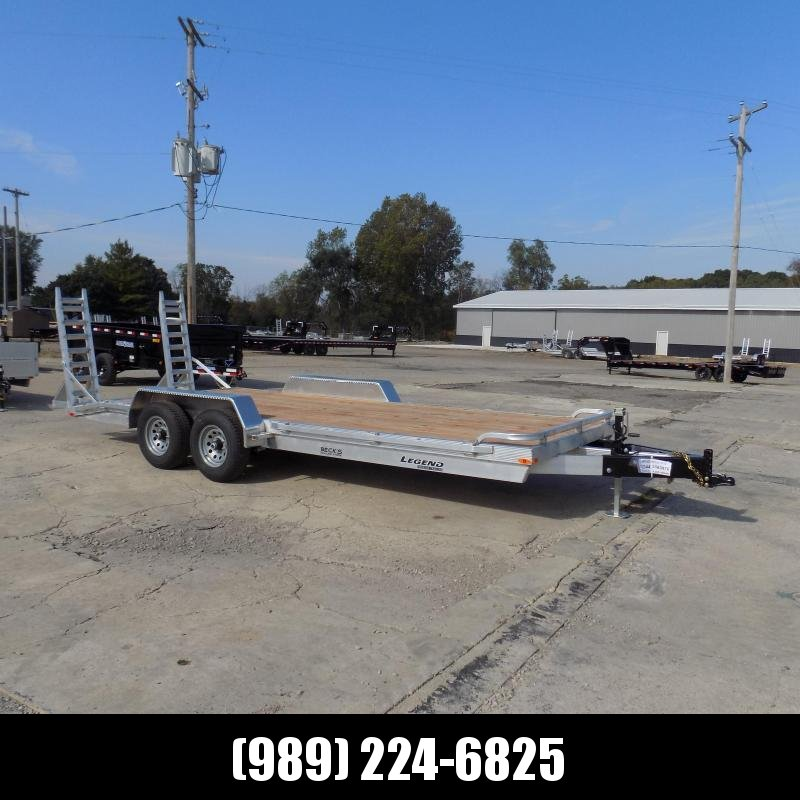 New Legend 7' x 20' Aluminum Equipment Trailer For Sale - $0 Down & Payments from $129/mo. W.A.C