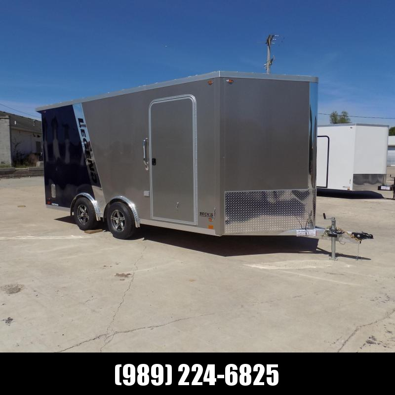 New Legend FTV 8' x 19' Heavy Duty Aluminum Trailer - LOADED!! $0 Down Financing Available