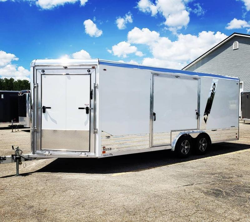 New 2022 Legend Trailers 8' X 24' Deluxe Snowmobile/All Sport Trailer - ARRIVING THIS FALL