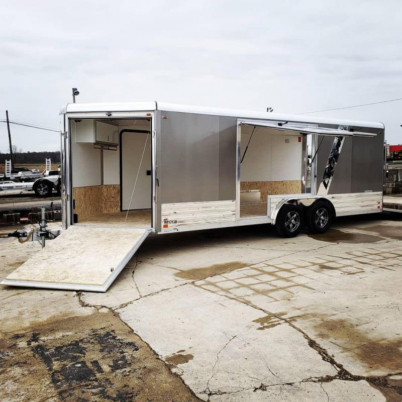 New 2022 Legend Trailers 8' X 24' Deluxe Snowmobile/All Sport Trailer - ARRIVING THIS FALL - RESERVE YOURS TODAY FOR THE BEST SELECTION