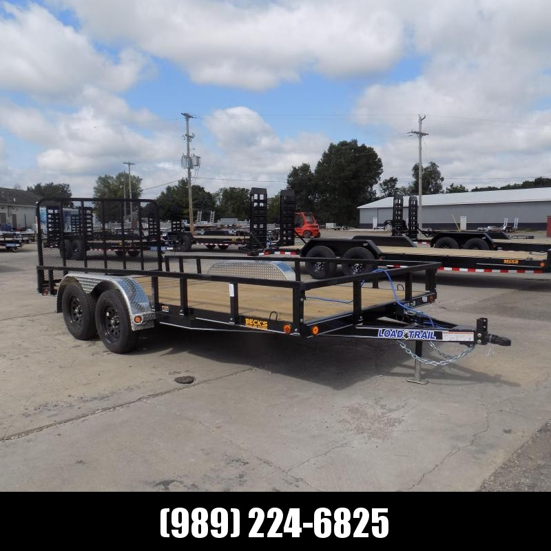 """New Load Trail 83"""" X 16' Tandem Axle Utility Trailer - $0 Down & Payments from $119/mo. W.A.C."""