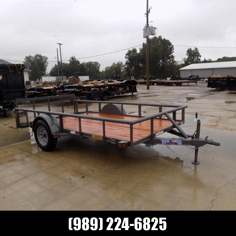 New Texas Bragg 6' x 12' Utility Trailer - $0 Down & Payments From $69/mo. W.A.C.