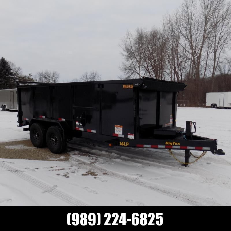New Big Tex Trailers 7' x 16' Low Pro Dump Trailer With 4' Sides - $0 Down & Payments from $145/mo. W.A.C.