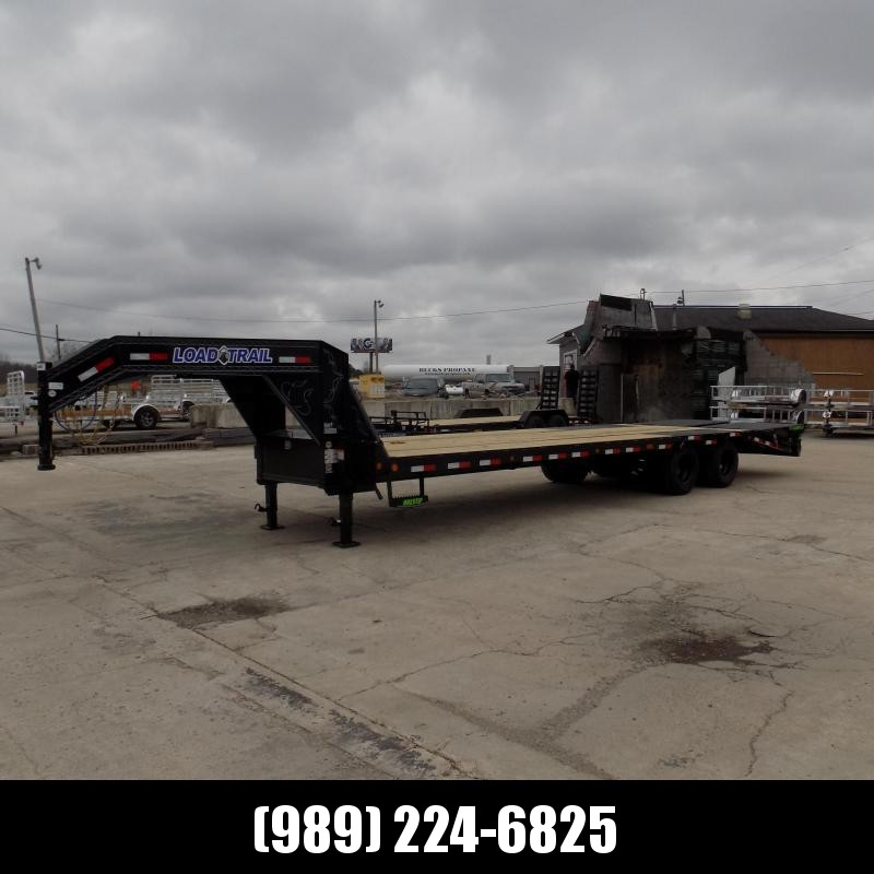 """New Load Trail 102"""" x 30' Gooseneck Equipment Trailer With 10K Axles - Flexible $0 Down Financing Available"""