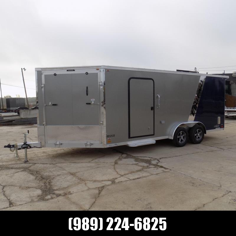 """New Legend Explorer 7.5' x 23"""" Snowmobile Trailer - New 7.5' Wide Model Has NO Interior Wheel Wells! Flexible Financing Options Available"""