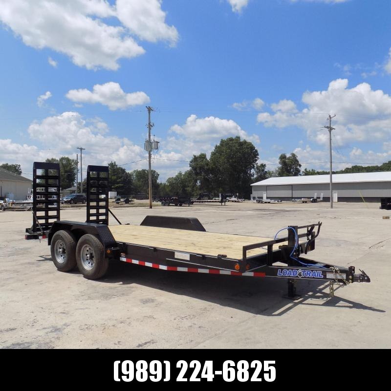 """New Load Trailer 83"""" x 18' Open Car Hauler/Equipment Trailer With 7K Axles - $0 Down & Payments from $119/mo. W.A.C."""