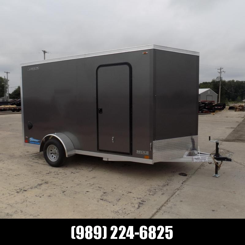 New Legend Thunder 7' X 14' All Aluminum Enclosed Cargo Trailer - $0 Down Financing Available