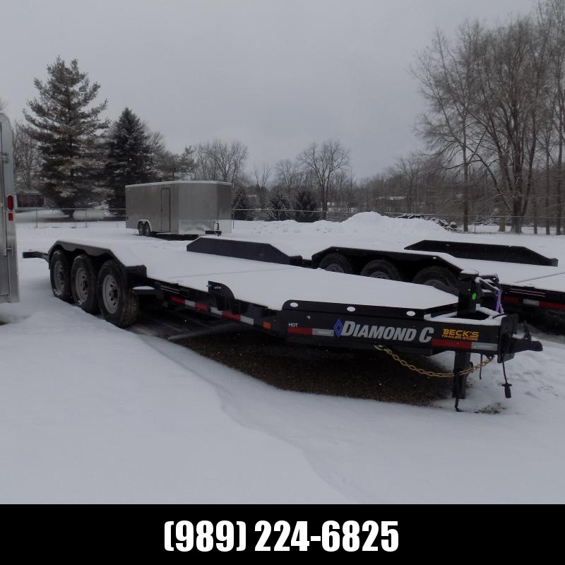 "New Diamond C HDT 82"" x 22' Tilt Deck Equipment Trailer - Torsion Axles & 24K Weight Rating - $0 Down & Payments From $157/mo. W.A.C."