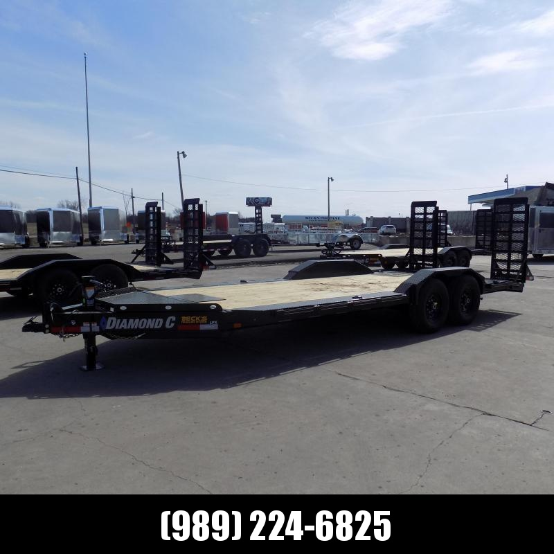 "New Diamond C Trailers 102"" x 20' Heavy Duty Equipment Trailer With Drive-Over Fenders - $0 Down & Payments from $139/mo. W.A.C."