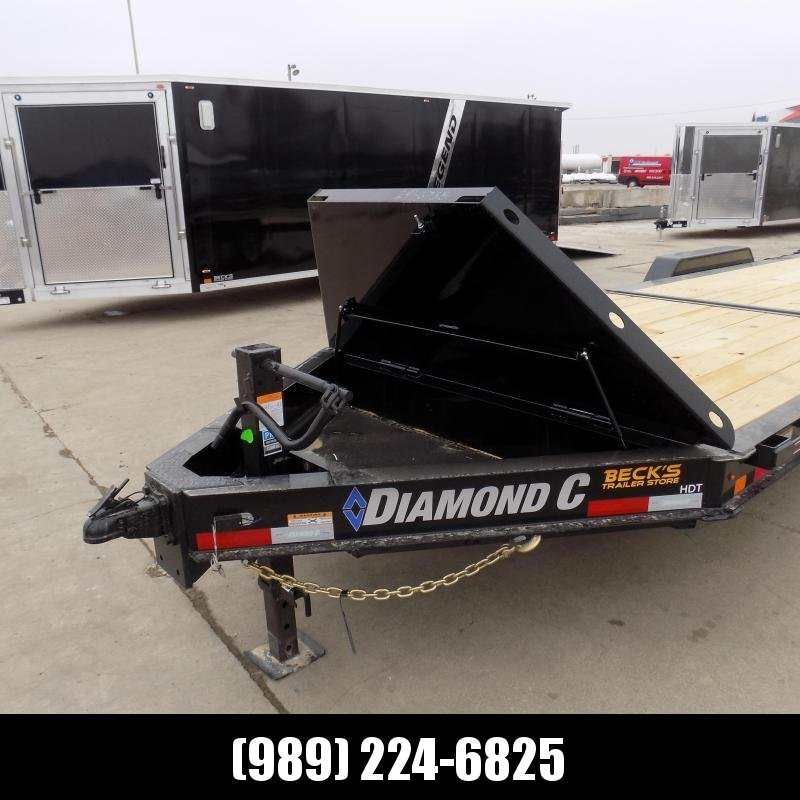 "New Diamond C Trailers 82"" x 24' Heavy-Duty Tilt Deck Equipment Trailer - 10K Torsion Axles - $0 Down & Payments from $159/mo. W.A.C."