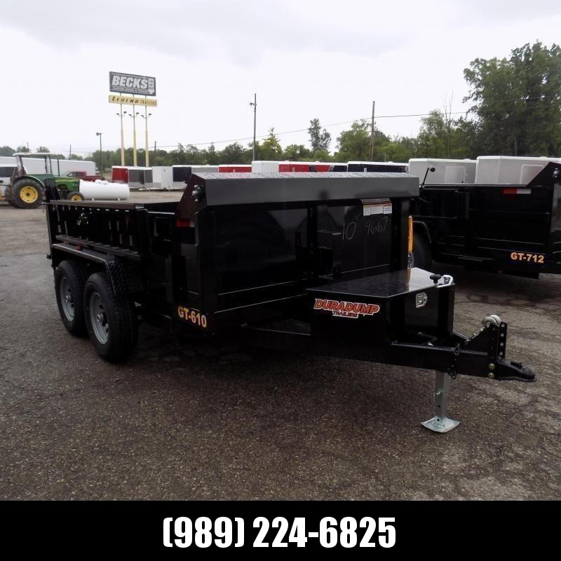 New DuraDump 6' x 10' Dump Trailer For Sale - Only $99/mo. & $0 Down Payment W.A.C.