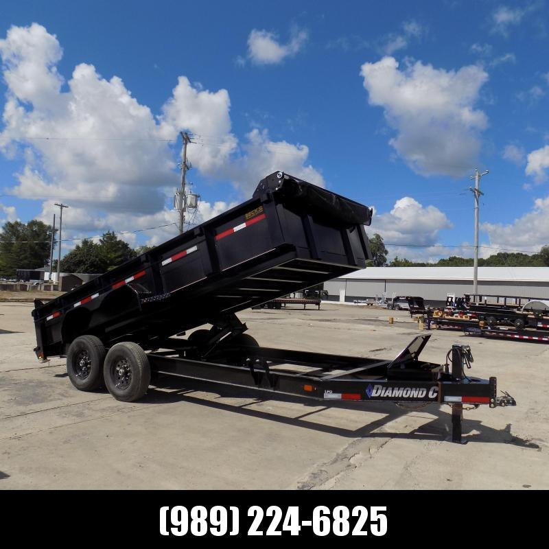New Diamond C Trailers 7' x 16' Low Profile Dump Trailer - $0 Down With Flexible Financing Available