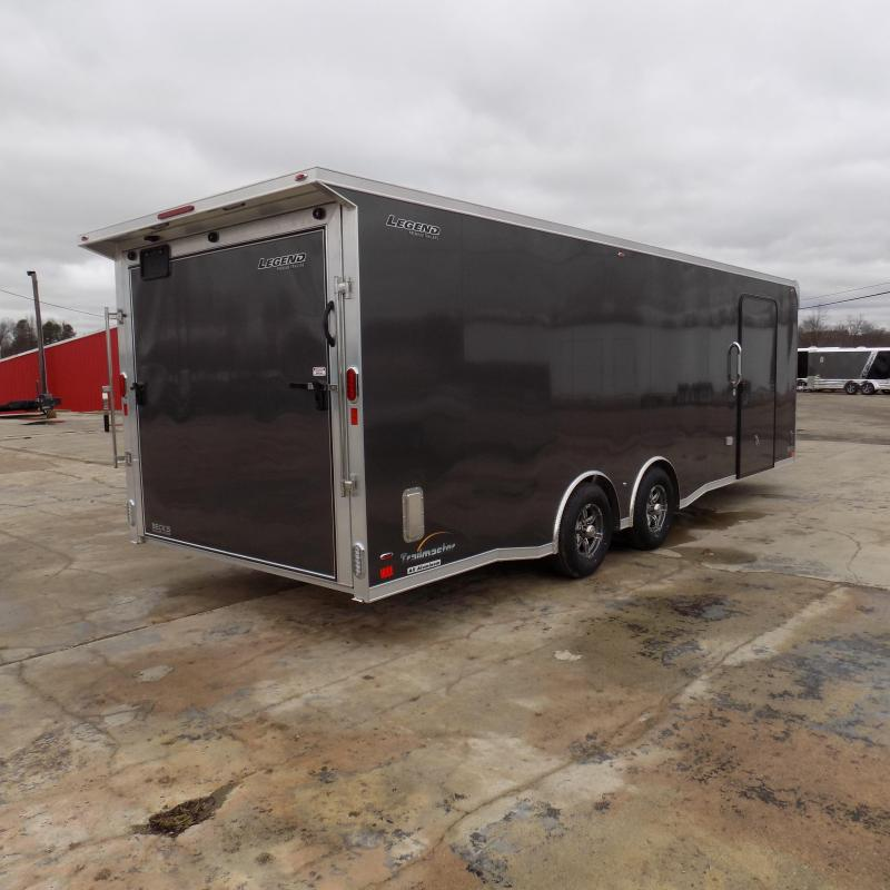 New Legend Trailmaster 8.5' x 24' Aluminum Race Series Trailer & Removable Fender - $0 Down Financing Available