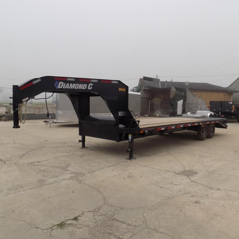 "New Diamond C Trailers 102"" x 25' Gooseneck Equipment Trailer - $0 Down Financing Available"