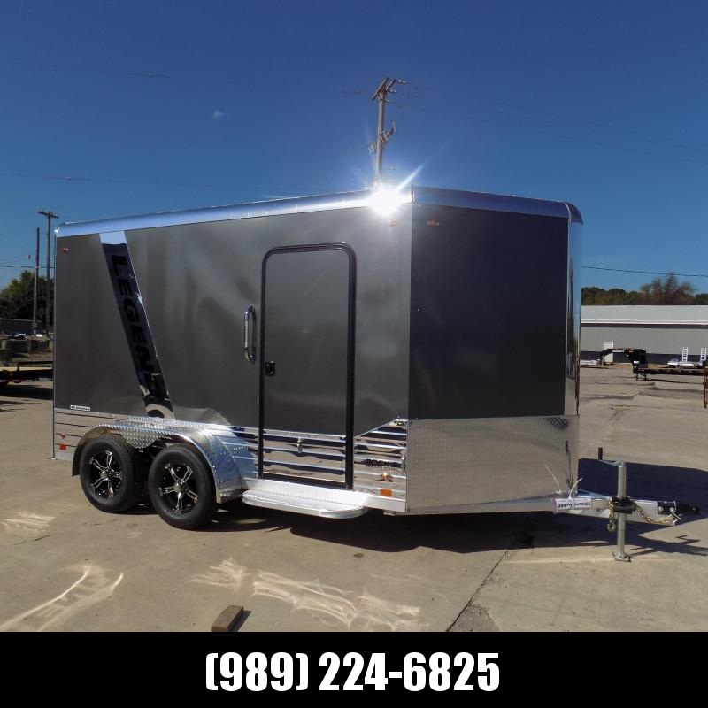 New Legend Deluxe V Nose 7' X 15' All Aluminum Cargo Trailer - $0 Down & Payments from $159/mo. W.A.C.