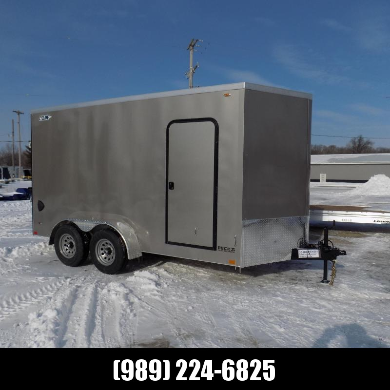 New Legend Trailers Legend Cyclone 7' x 16' Enclosed Cargo Trailer for Sale - 5200# Torsion Axles - $0 Down & Payments From $123/mo. W.A.C.