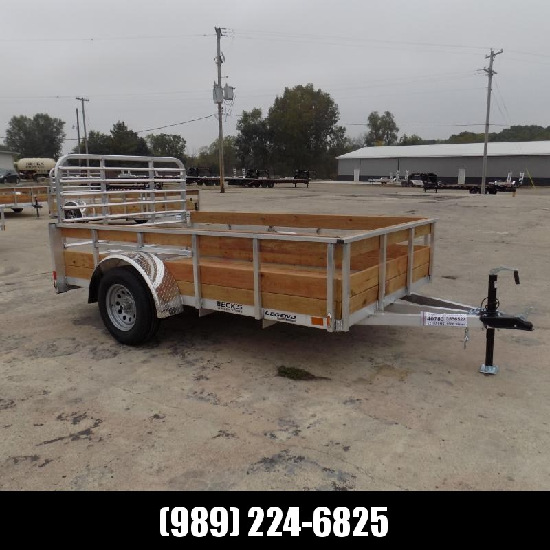 New Legend 6' x 10' Aluminum Utility Trailer For Sale - $0 Down & Payments From $81/mo. W.A.C.