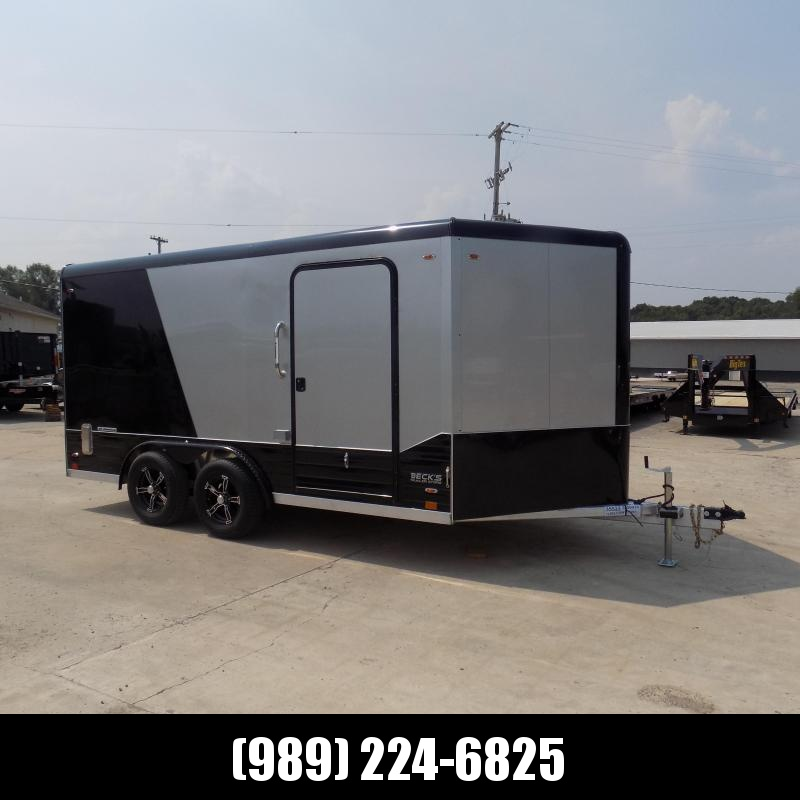 New Legend Deluxe V Nose 8' X 17' All Aluminum Cargo Trailer - $0 Down with Financing Options Available