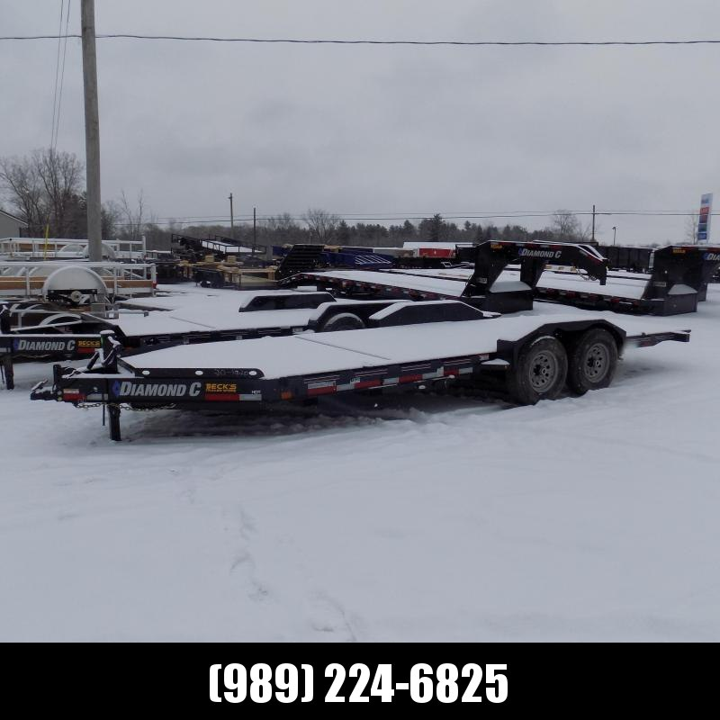 """New Diamond C Trailers 82"""" x 20' Tilt Deck Equipment Trailer - $0 Down & Payments from $137/mo. W.A.C."""