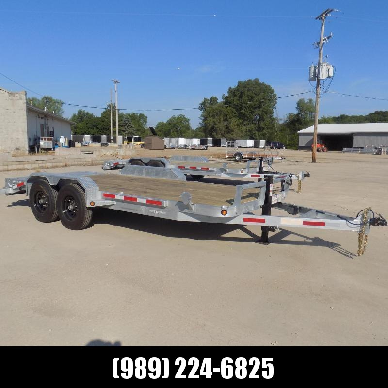 New Galvanized 7' x 18' Equipment Trailer - Corrosion Resistant  - $0 Down & Payments From $139/mo. W.A.C.