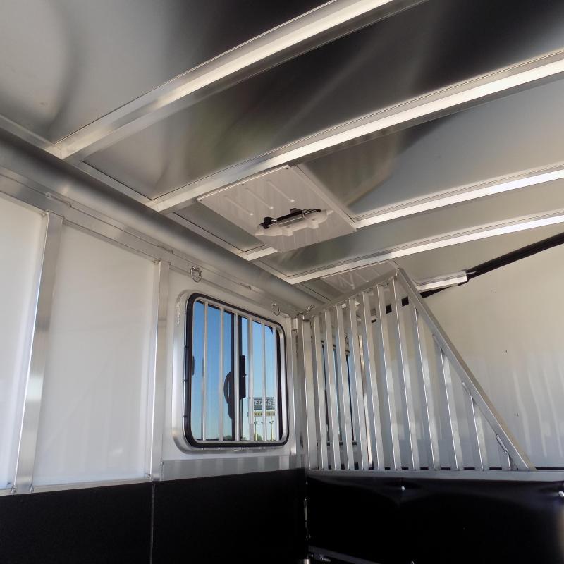 New Sundowner Aluminum Super Sport Bumper Pull 2 Horse Slant Load - $0 Down Financing Available