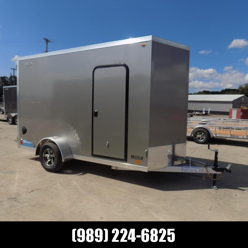 New Legend Thunder 6' x 13' Aluminum Enclosed Cargo Trailer for Sale- $0 Down Payments From $121/Mo W.A.C.