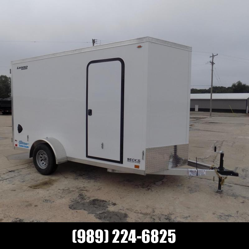New Legend Thunder 6' x 13' Aluminum Enclosed Cargo Trailer for Sale- $0 Down Payments From $109/Mo W.A.C.