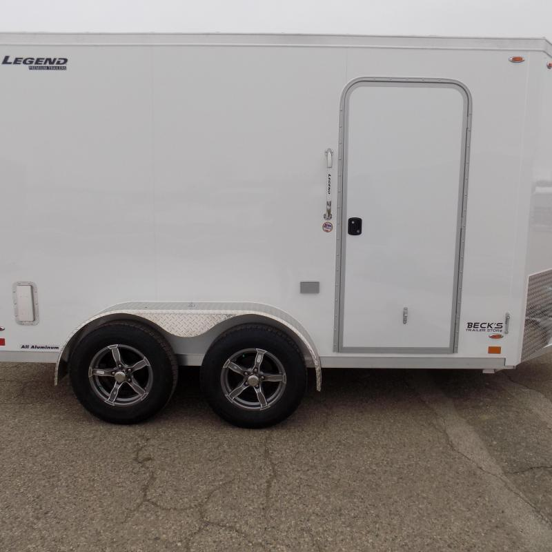 New Legend FTV 7' x 15' Aluminum Enclosed Cargo Trailer - Best Built Cargo Trailer - $0 Down & Payments From $125/mo. W.A.C.