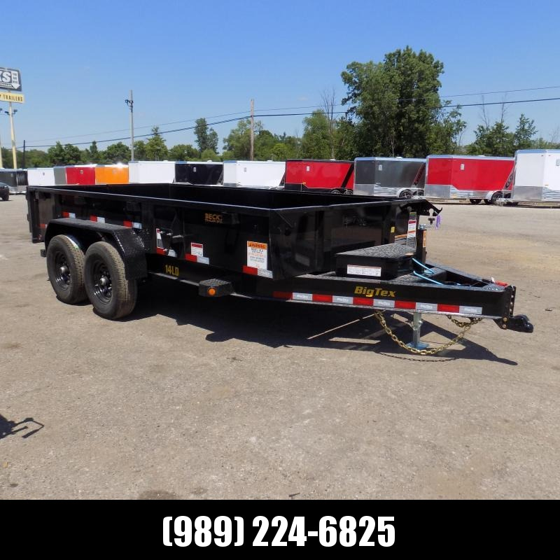 New Big Tex 7' x 14' Dump Trailer for Sale - $0 Down Financing Available
