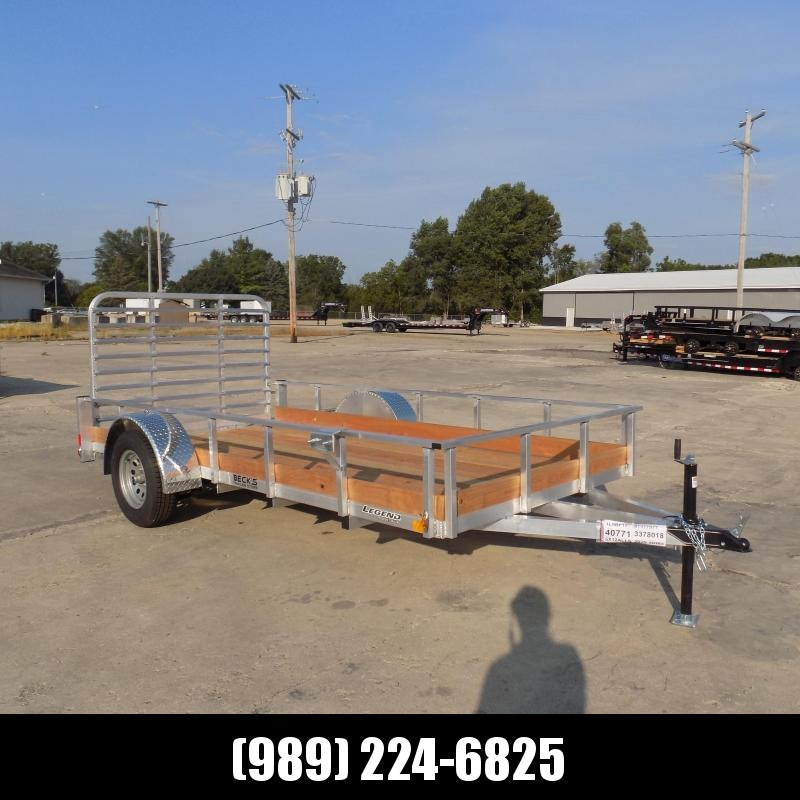 New Legend 6' x 12' Aluminum Utility Trailer For Sale - $0 Down & Payments From $79/mo. W.A.C.