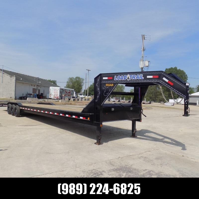 """New Load Trail 102"""" x 44' Gooseneck Car Hauler -Drive Over Fenders - Flexible $0 Down Financing Available"""
