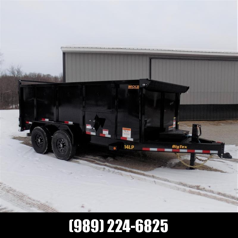 New Big Tex Trailers 7' x 14' Low Pro Dump Trailer For Sale With 4' Sides - $0 Down & Payments from $145/mo. W.A.C.