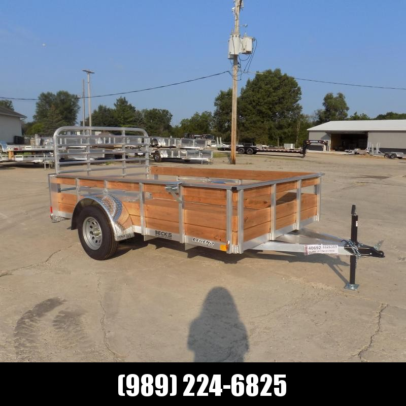 New Legend 6' x 10' Aluminum Utility Trailer For Sale - $0 Down & Payments From $83/mo. W.A.C.