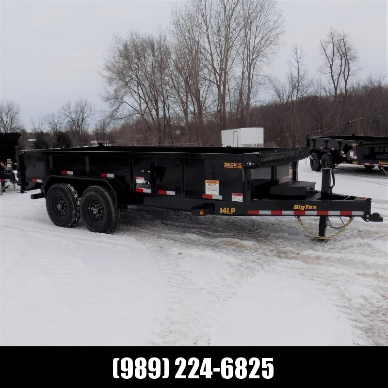 New Big Tex Trailers 7' x 16' Low Pro Dump Trailer For Sale - $0 Down & Payments from $133/mo. W.A.C.
